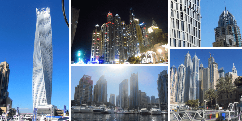 1. dubai marina the walk