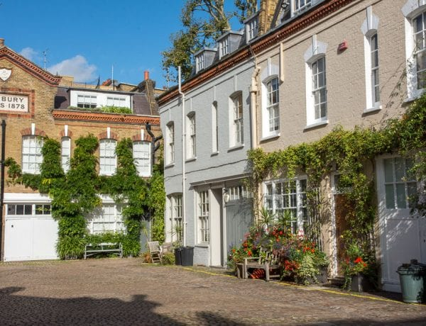 Hofje in Notting Hill