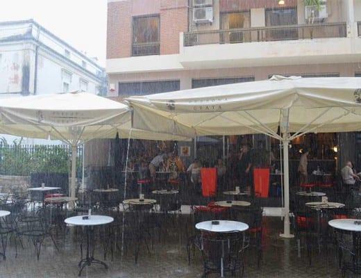 regen op corfu