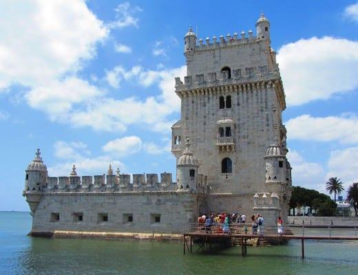 torre de belem bij lissabon