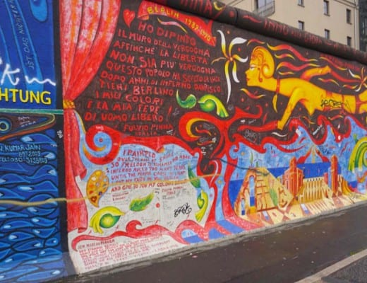 east side gallery in berlijn