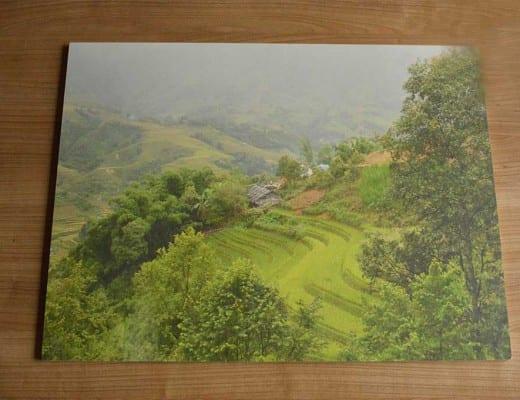 foto afdrukken op hout