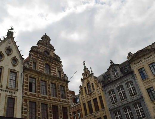 gebouwen in het centrum van leuven