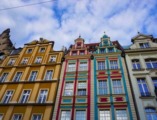 huizen in wroclaw