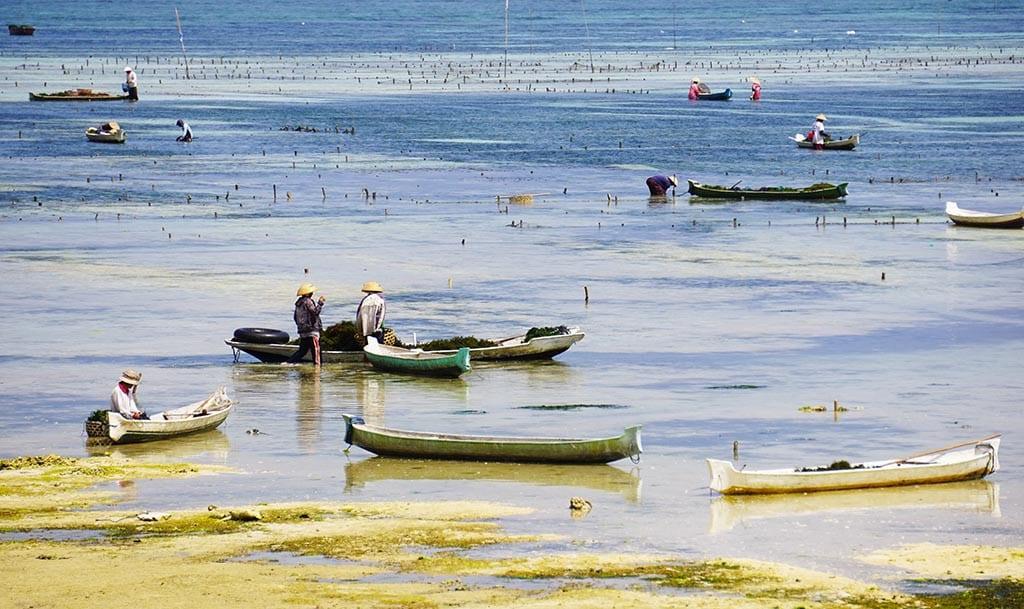 vissers in nusa lembongan