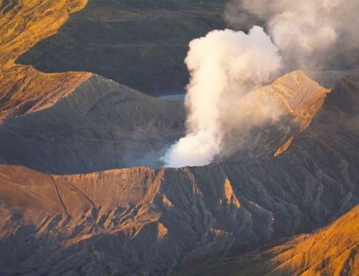 krater van de bromo vulkaan