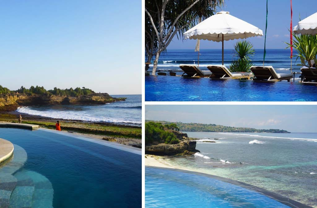 nusa lembongan infinity pools