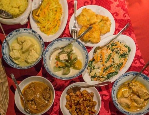 eten bij the sawah in yogyakarta