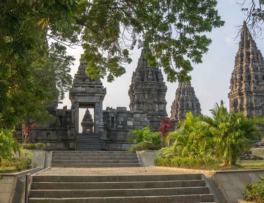 Prambanan tempel in Yogyakarta op Java