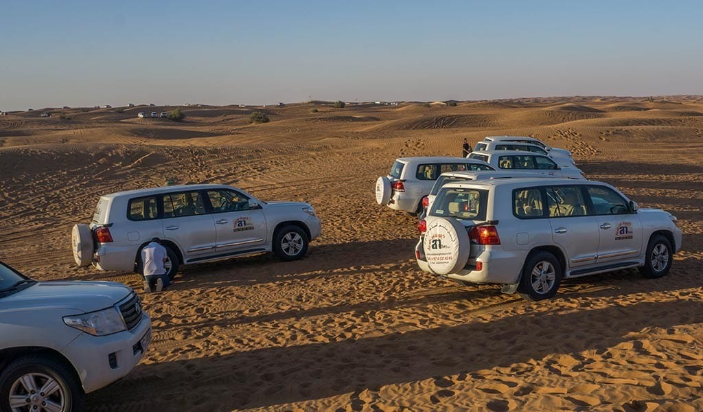 dubai desert safari autos