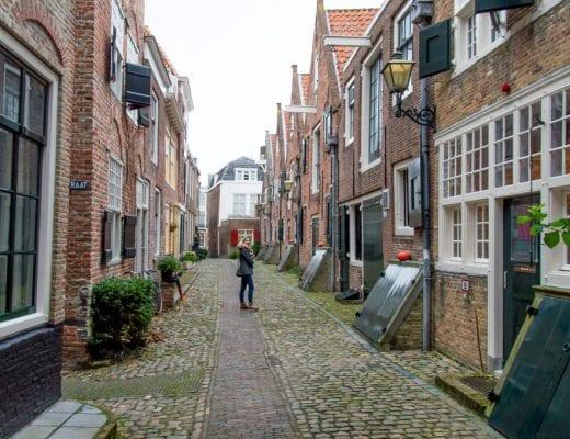 Hofje in Middelburg