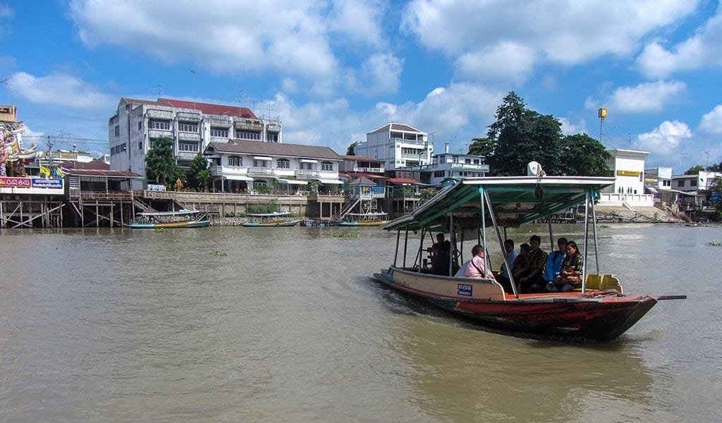 Ferry in Ayutthaya