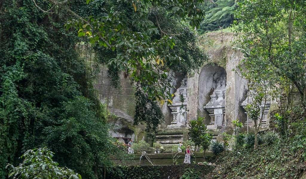 Gunung Kawi tempel op Bali