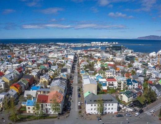 Doen in Reykjavik - Uitzicht Hallgrimskirkja