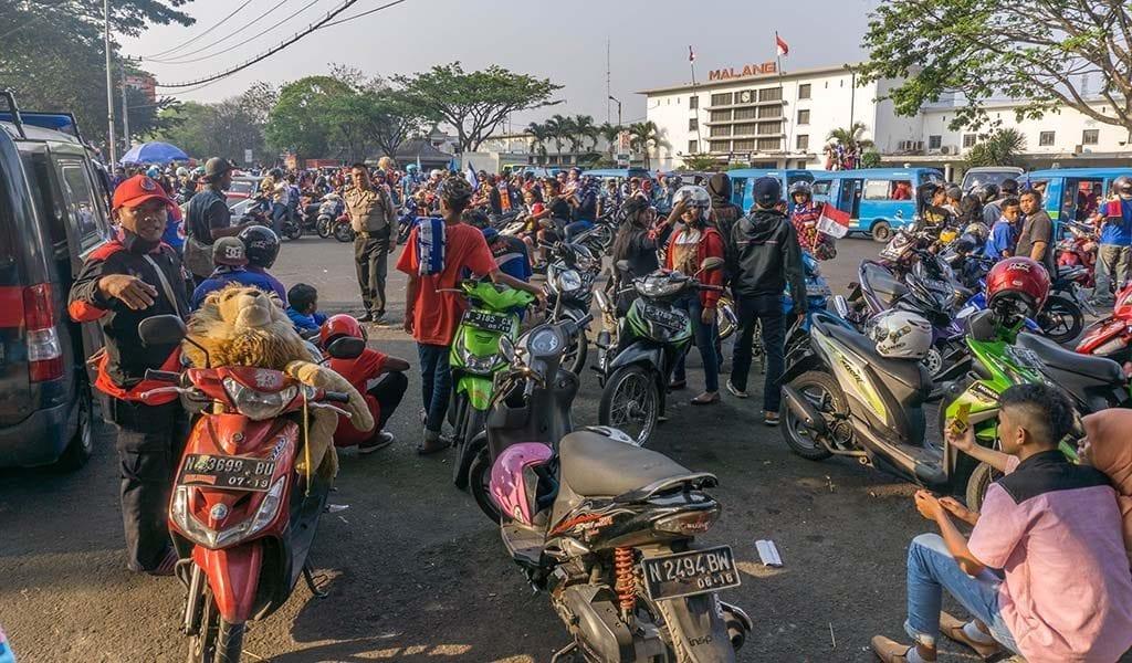 Drukte in Malang