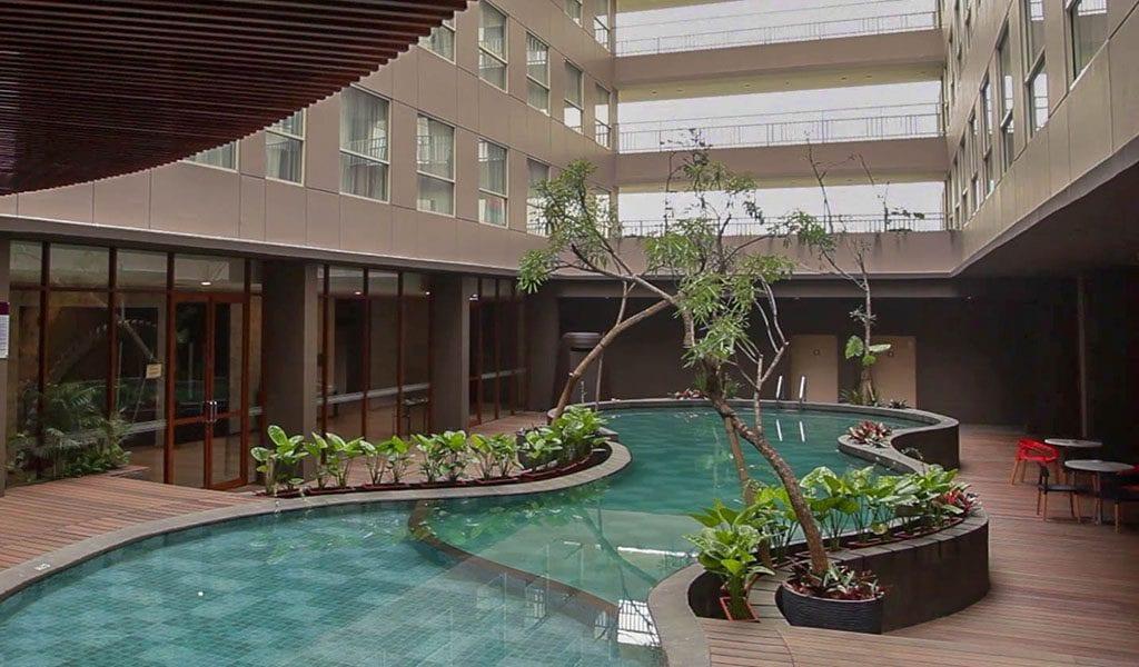 Jakarta Ibis Styles Airport zwembad
