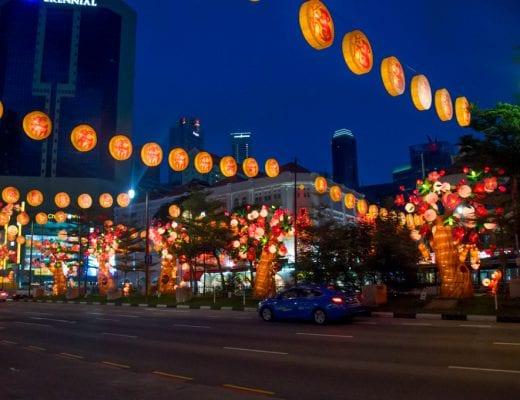 Straat in Singapore