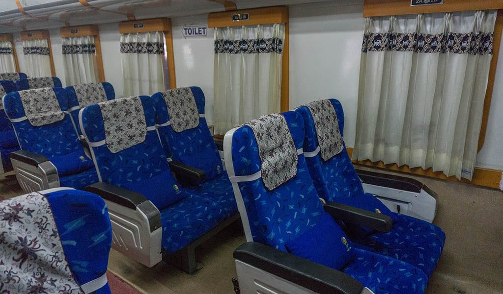 Trein Indonesië