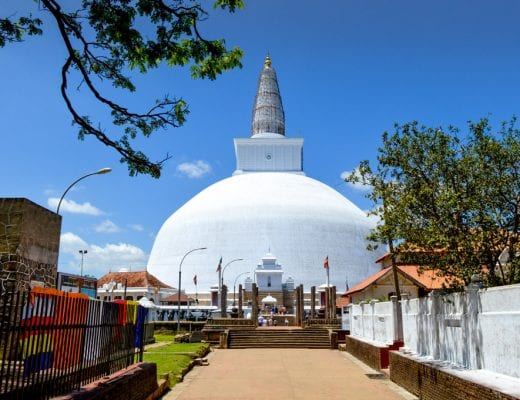 Grootste Dagoba in Anuradhapura