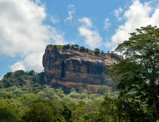 Sigirya Rots in Sri Lanka