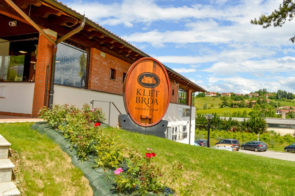 Wijnproducent Klet in Brda