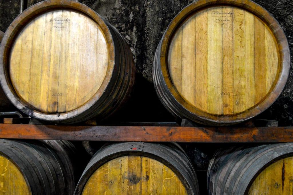 Wijnkelder bij Klet in Brda