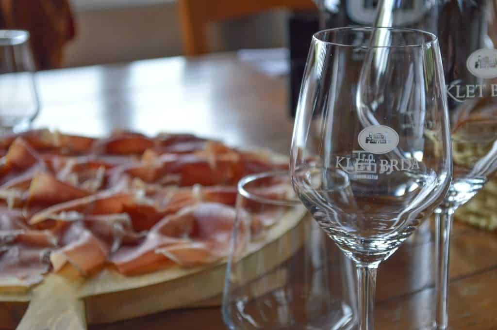 Wine tasting bij Klet in Brda