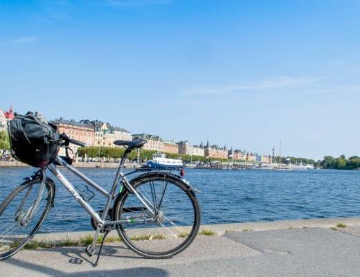 Fiets in Stockholm