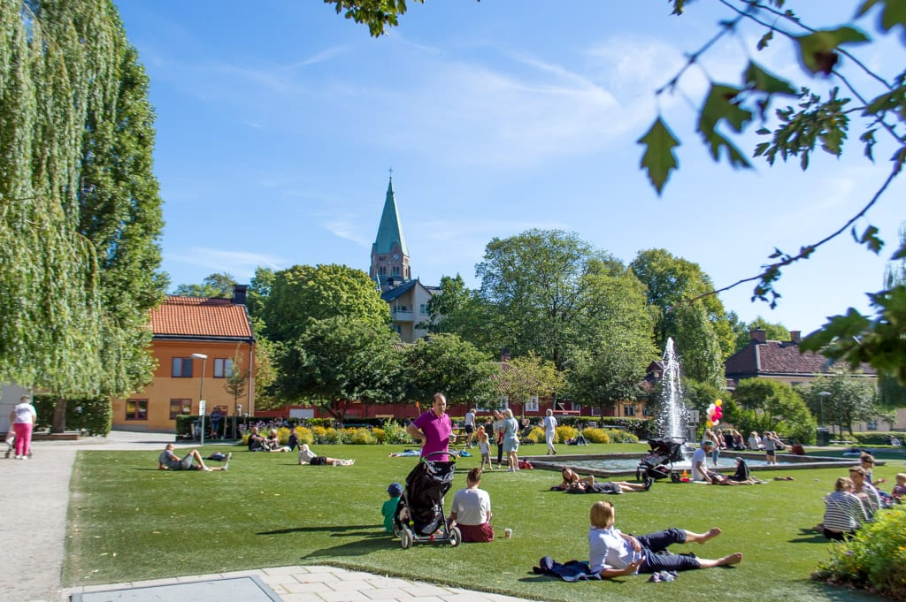Parkje in Södermalm