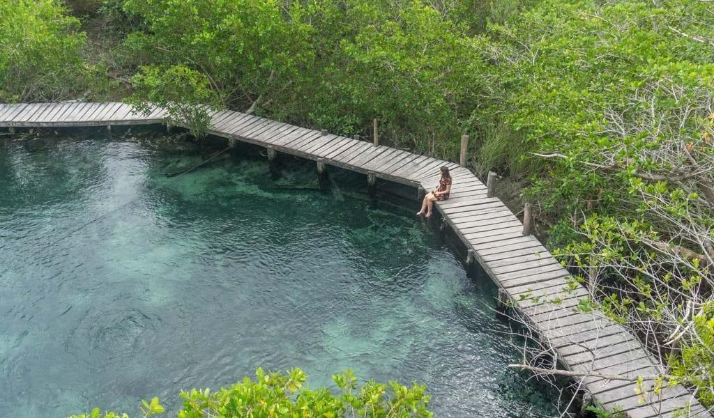 Isla Holbox Yalahau lagoon