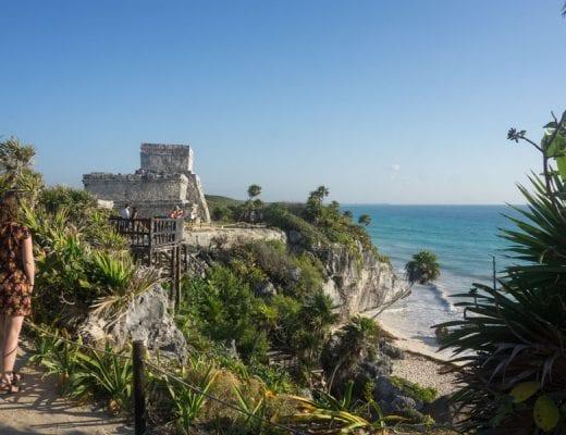Tulum ruïnes