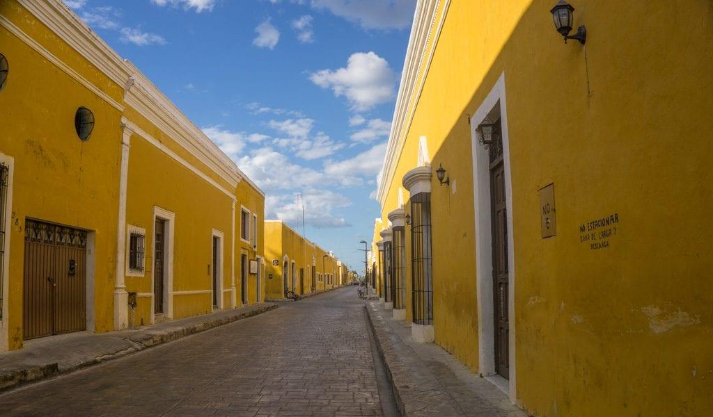 Route Mexico - Izamal