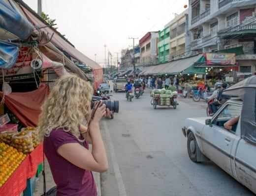 Foto's maken op reis