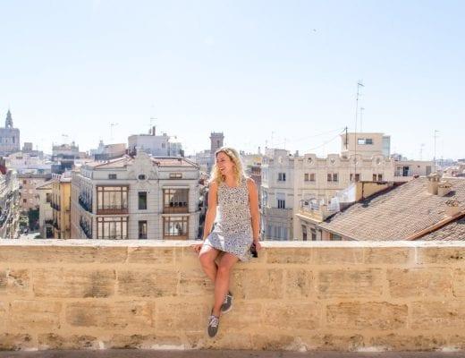 Uitzicht vanaf de Serranos Toren