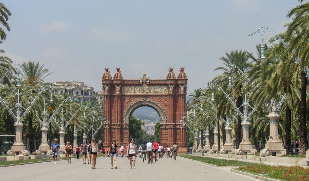 Barcelona in één dag - Arc de Triomf