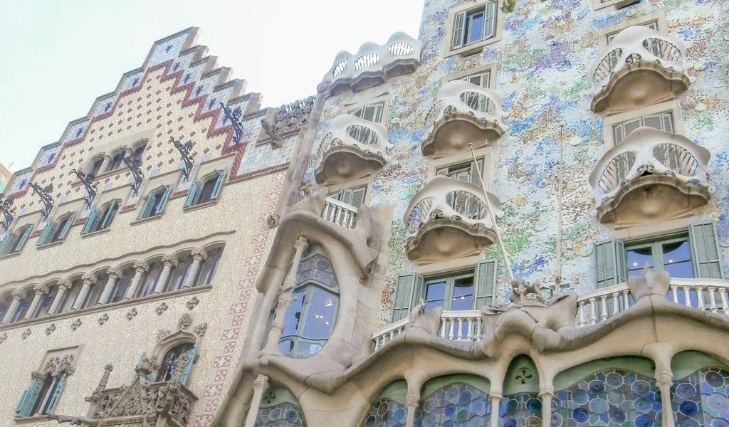Barcelona in één dag - Casa Batllo