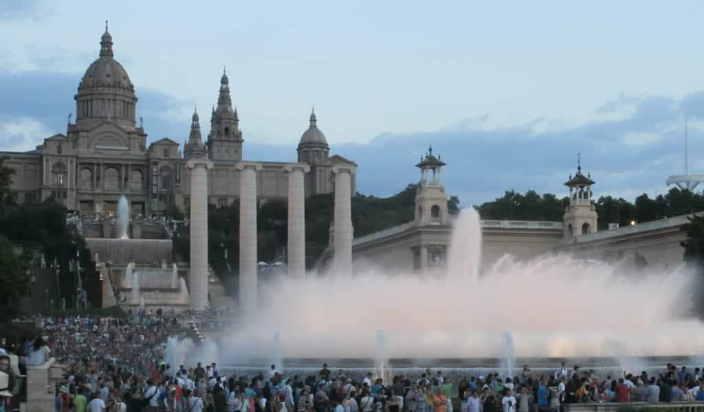 Barcelona in één dag - Font Màgica