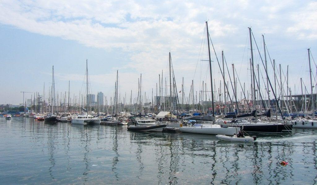 Barcelona in één dag - Haven