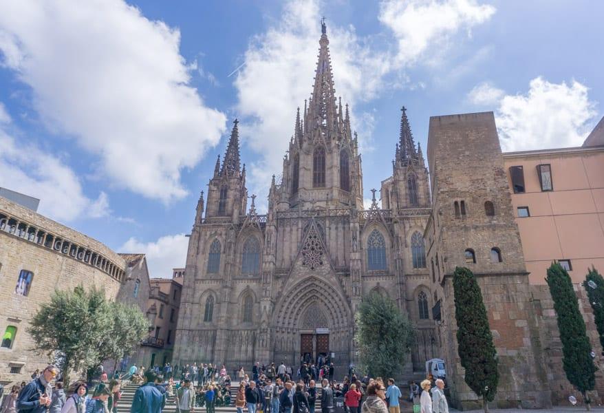 Barcelona in één dag - Kathedraal