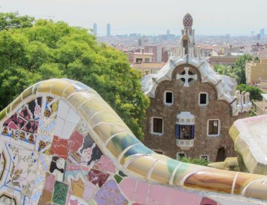 Barcelona in één dag - Parc Guëll
