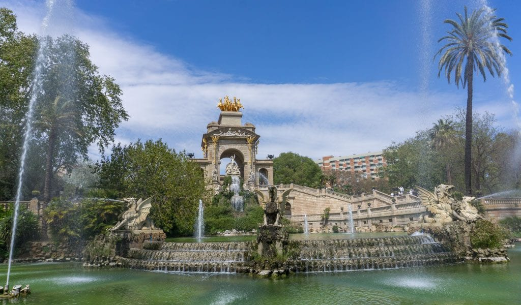 Barcelona in één dag - Parc de la Cuitadella 1