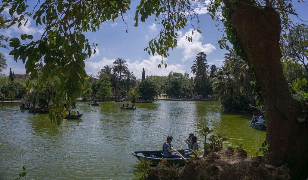 Barcelona in één dag - Parc de la Cuitadella 2