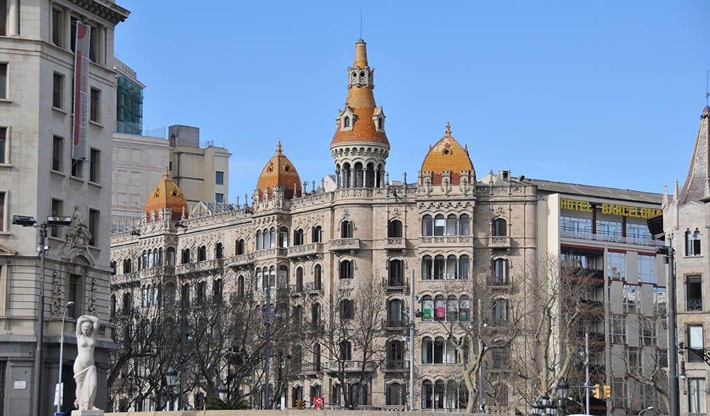 Barcelona in één dag - Plaça de Catalunya