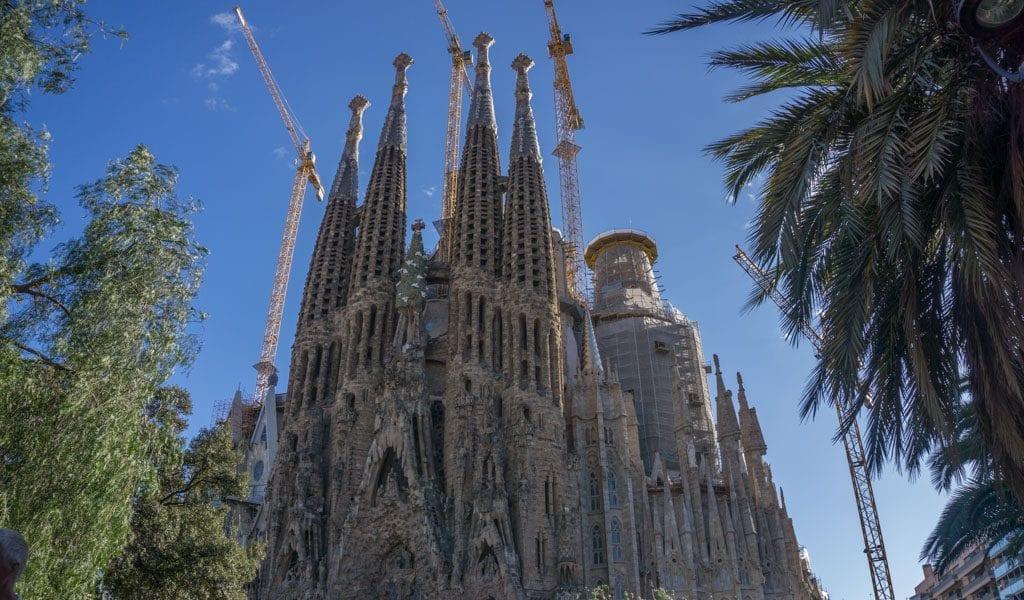 Barcelona in één dag - Sagrada familia 1