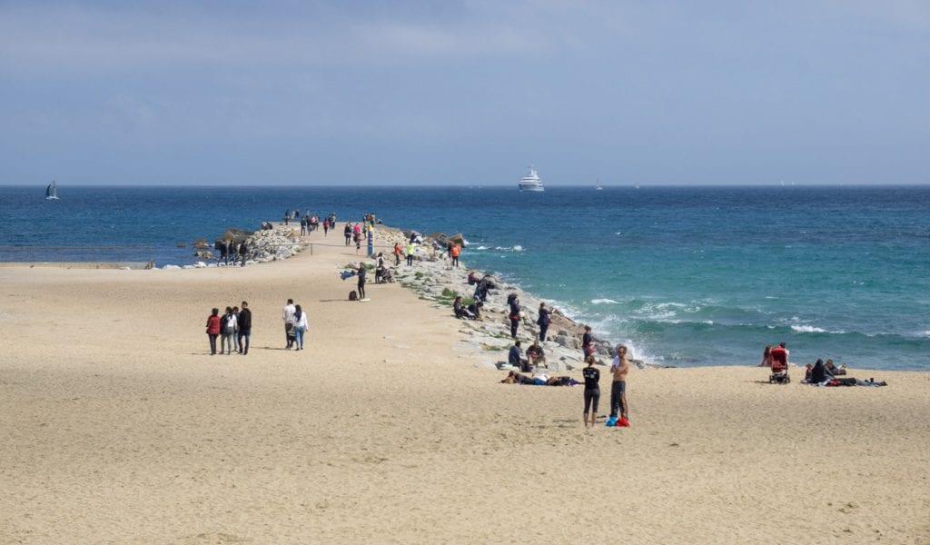 Barcelona in één dag - strand