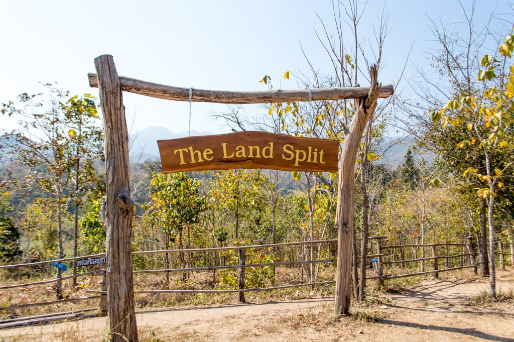 The Land Split bij Pai