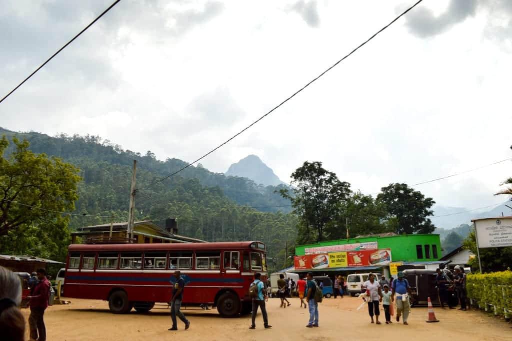Bus in Sri Lanka
