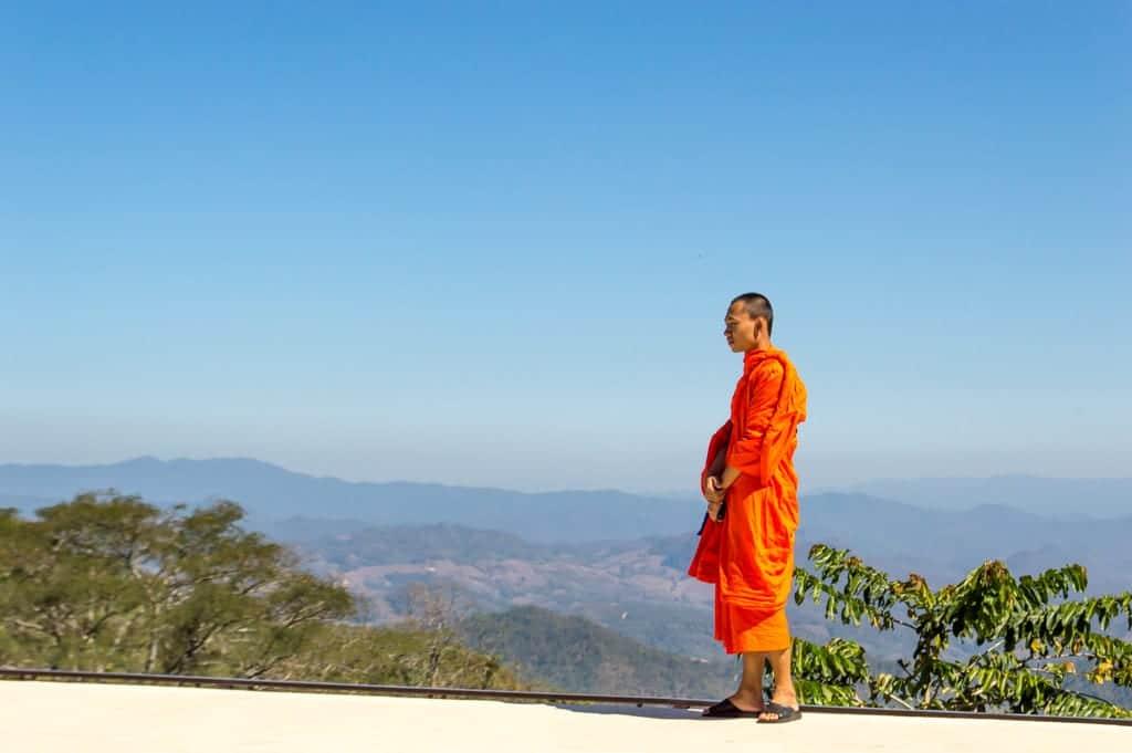 Uitzichtpunt Noord-Thailand