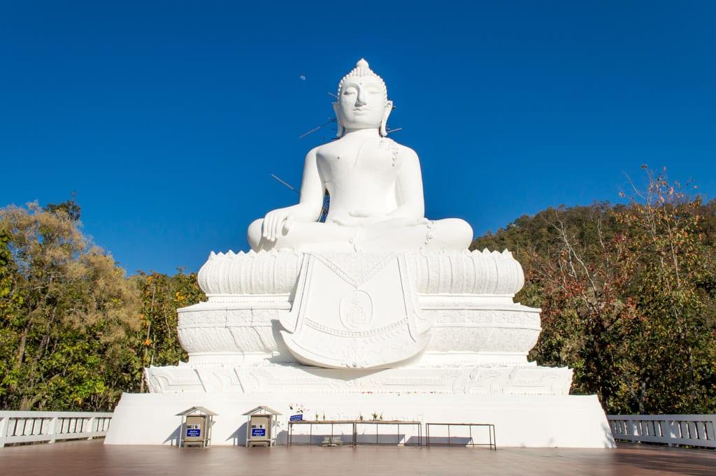 De Witte Boeddha in Pai