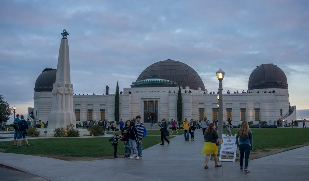 Los Angeles in een dag - Griffith Observatory